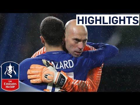 Chelsea Win Penalty Shootout!   Chelsea 1-1 Norwich   Emirates FA Cup 2017/18