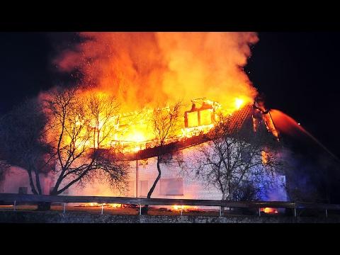 Zwei Tote bei Wohnhausbrand