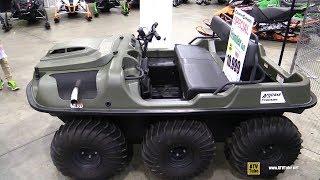 10. 2017 Argo 6x6 Frontier Amphibious Vehicle - Walkaround - 2017 Toronto Snowmobile ATV Show