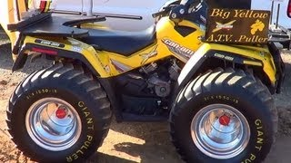 7. Can Am Outlander Pulling ATV at the Tennessee Valley Fair 2012