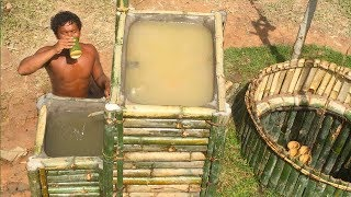 Video Search groundwater and Build Water filter in the forest by ancient skill ( wells bamboo ) MP3, 3GP, MP4, WEBM, AVI, FLV Februari 2019