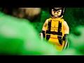 LEGO HULK vs Wolverine & Deadpool Super Heroes Stop Motion