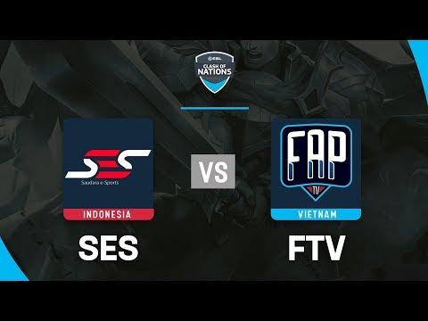 FAPTV vs SES - ESL Clash Of Nations 2019 - Garena Liên Quân Mobile - Thời lượng: 50:31.