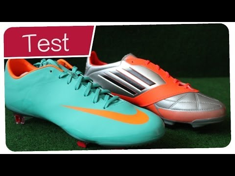 mercurial_vapor_video - Nike vs Adidas : Nike Mercurial Vapor 8 - Adidas F50 Adizero FG Vergleich - Lionel Messi vs Cristiano Ronaldo Boots  Facebook : facebook.com/pages/Germankic...