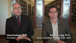 Nevada 2.0: Q&A with UNLV President Neal Smatresk and Dr. Robert Lang