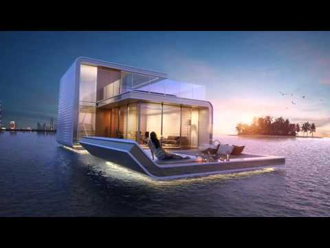 VIDEO  Dubai's Floating Villa's
