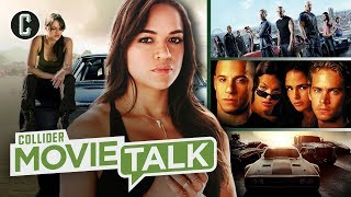 Michelle Rodriguez Demands Fast and Furious 9 Add a Female Writer and Wins! - Movie Talk by Collider