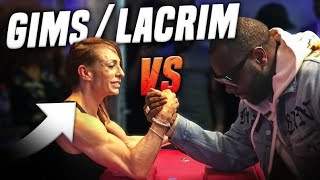 Video MAITRE GIMS & LACRIM BATTUS AU  BRAS DE FER ? 💪🏻 - Marion et Anne-So MP3, 3GP, MP4, WEBM, AVI, FLV Oktober 2017