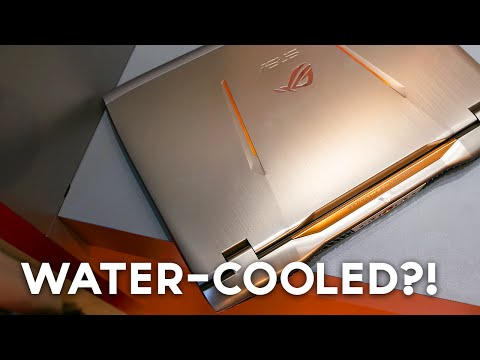 , title : 'First Water-Cooled Gaming Laptop!? (ASUS ROG GX700)'