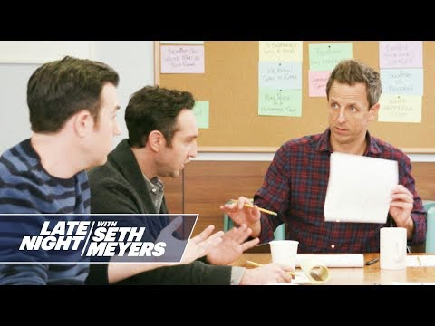 Late Night Writers Room: Mike's Cousin