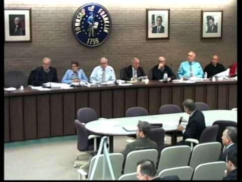 Franklin Township NJ (Somerset County) December 17, 2015 Board of Adjustment Meeting