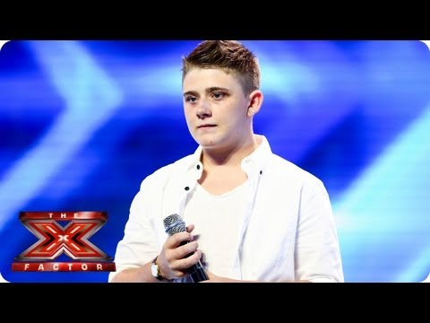 Nicholas McDonald sings A Thousand Years – Arena Auditions Week 3 – The X Factor 2013