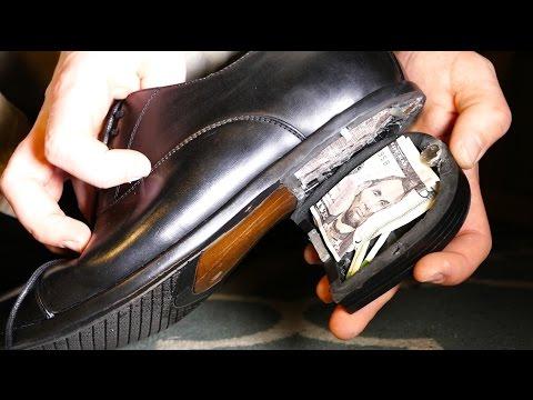 fai da te pro - scarpa con tacco da james bond 007