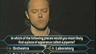 """Video Lars Ulrich on """"Who Wants To Be A Millionaire"""" MP3, 3GP, MP4, WEBM, AVI, FLV Oktober 2018"""