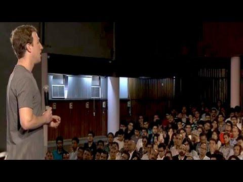 Facebook's Mark Zuckerberg's townhall in Delhi