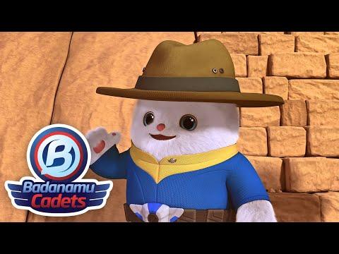 S1 EP05 The Ancient Ecco Pyramid l Badanamu Cadets l Nursery Rhymes & Kids Songs