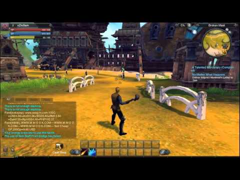 Raiderz gameplay (ITA)