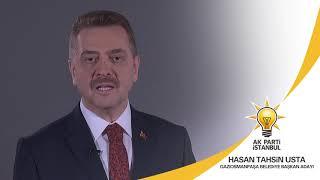 Gaziosmanpaşa Belediye Başkan Adayımız Hasan Tahsin Usta