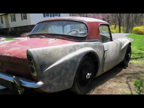 Restoration Blog: 1962 Daimler SP250 – Jay Leno's Garage