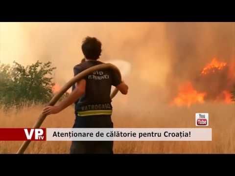 Atenționare de călătorie pentru Croația!