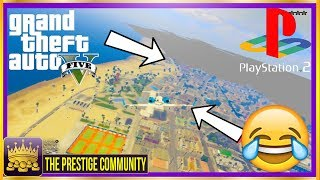 "LOOL How Bad Are These Graphics 😂😭😂 - GTA V On Playstation 2?! (If GTA 5 Was On Ps2) Worst Graphics Ever in GTA 5 2017♛ DIRECTOR -  UltimateGamerXP (Help Him Get 2K!) ► http://bit.ly/SubToUltimateGamerXp ◄►ROAD TO 150K! Join the #PrestigeFam and Subscribe! ✔🔔👆Turn on Post Notifications👆🔔✔ http://bit.ly/SubToPmHD► The Prestige Community WEBSITE - Submit videos, Cheap GFX & More! http://prestigecommunity.weebly.com/ ▬▬▬▬▬▬▬▬▬ஜ۩♛ DOPE GFX, INSTANT GTA CASH & RANK,  COD RECOVERIES AND MORE!  ♛۩ஜ▬▬▬▬▬▬▬▬▬★ For Cheap, Reliable GTA V Accounts and INSTANT GTA Cash + Rank: ​https://goo.gl/PPD27p ★ For Cheap Games, Call of Duty Modded Accounts and Recoveries, In-game items, gaming accessories and more! https://goo.gl/rvjMQK Use code - 'PMHD' for 5% OFF!★ Need Intros or GFX? Buy Cheap Professional Designs from PrestigeStudios! (My team) http://prestigecommunity.weebly.com/gfx-shop.html▬▬▬▬▬▬▬▬▬ஜ۩♛ Join The Prestige Community ♛۩ஜ▬▬▬▬▬▬▬▬▬▼ Want to be Featured on PmHD? ▼Subscribe and Submit your Glitches, Tips and Tricks videos to our website! http://prestigecommunity.weebly.com/submit-your-videos--contact.htmlTwitter: https://twitter.com/PrestigeMontageFB: http://bit.ly/PmHDFBSubscribe: https://www.youtube.com/c/PmHD?sub_confirmation=1♛ Subscribe to our Prestige Channels ♛PmHD (100K+ GTA): https://www.youtube.com/c/PmHD?sub_confirmation=1PrestigeGaming (15K+ Gaming): https://bitly.com/SubPrestigeGamingPrestigeMusick (8K Music): http://www.youtube.com/PrestigeMusick?sub_confirmation=1  PrestigeStudios (GFX/INTROS): http://bit.ly/SubPrestigeStudios PrestigeComedy (22K Entertainment): http://bit.ly/SubPrestigeComedy▬▬▬▬▬▬▬▬▬ஜ۩♛ INTRO SONG ♛۩ஜ▬▬▬▬▬▬▬▬▬My Music channel: https://www.youtube.com/user/PrestigeMusick  Intro song - https://www.youtube.com/watch?v=ZeLeAgQ_DtoOutro Song - https://www.youtube.com/watch?v=BbZP3zCLBrM▬▬▬▬▬▬▬▬▬ஜ۩♛ 10 Popular GTA 5 Online GunRunning DLC Glitches Not to Miss! ♛۩ஜ▬▬▬▬▬▬▬▬▬► GTA 5 Online TOP 10 GLITCHES 1.40! (NEW) 10 BEST WORKING GLITCHES GTA 5 1.40 (Top 10 Glitches 1.40) http://youtu.be/NeCoPZe9SKk► GTA 5 Online TOP 10 CLOTHING GLITCHES 1.40! NEW BEST 10 GUNRUNNING Outfit Glitches! Top 10 Glitches 1.40 http://youtu.be/w-VCsr8F7gM► GTA 5 Online TOP 5 GLITCHES 1.40! (NEW) FREE $30,000,000 GLITCH, 100% INVISIBLE BODY, RARE CLOTHING! http://youtu.be/-g17pseXp7E ► GTA 5 Online TOP 5 CLOTHING GLITCHES 1.40! *NEW* DIRECTOR MODE GLITCH 1.40, RARE JOGGERS, INVISIBLE ARMS! http://youtu.be/7tBluIaowgk► FINALLY! GTA 5 Online ''XBOX ONE'' & PS4 DIRECTOR MODE GLITCH 1.40! SOLO GTA 5 ''Money Glitch 1.40'' http://youtu.be/r-YbkDu1r-k► GTA 5 CHECKERED OUTFIT GLITCH 1.40! (NEW) SOLO 'CHECKERBOARD OUTFIT' TUTORIAL GTA 5 Online 1.40 https://www.youtube.com/watch?v=63XipThzvAY► OMG! NEW $10,000,000 /HR ''SOLO'' MONEY GLITCH! GTA 5 Online 1.40 *SOLO* ''UNLIMITED MONEY GLITCH'' http://youtu.be/8Ev84bLKHYE► GTA 5 RP GLITCH 1.40! *SOLO* ''UNLIMITED RP GLITCH 1.40'' Level Up FAST AND EASY 1.40 (PS4/Xbox /PC) http://youtu.be/edYOw7g-XAs► GTA 5 GUNRUNNING GLITCHES 1.40! *NEW* MILITARY ''MODDED OUTFIT GLITCH 1.40'' (Clothing Glitches 1.40) http://youtu.be/dtMbuEDpvP8► GTA 5 Online TOP 3 MODDED OUTFITS 1.40! GUNRUNNING Modded Outfit Glitches Using Clothing Glitches! https://www.youtube.com/watch?v=jjUQeyxYwp0▬▬▬▬▬▬▬▬▬ஜ۩♛ A Personal Note From Xav ♛۩ஜ▬▬▬▬▬▬▬▬▬ Hey #PrestigeFam! Thanks for watching guys! Help us reach 150,000 Subscribers by rating the videos and leaving feedback! Subscribe if you're new here for the best and latest Gaming Glitches, tips and tricks! Stay tuned, Stay Prestige ✌️✌️#PrestigeFam #PrestigeCommunity-Xav, PmHD♛ Fair Use Disclaimer:♛ COPYRIGHT DISCLAIMER UNDER SECTION 107 OF THE COPYRIGHT ACT 1976 - Copyright Disclaimer Under Section 107 of the Copyright Act 1976, allowance is made for ""fair use"" for purposes such as criticism, comment, news reporting, teaching, scholarship, and research. Fair use is a use permitted by copyright statute that might otherwise be infringing. Non-profit, educational or personal use tips the balance in favor of fair use"