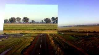 Yarrawonga Australia  City pictures : Daniel's First Flight In a Microlight Trike - Yarrawonga Australia
