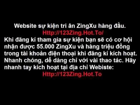 Nhận ZingXu miễn phí,  w.W.w.123Zing.Hot.To, Cách nhận ZingXu miễn phí