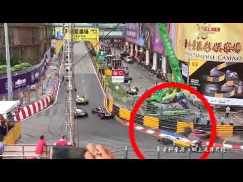 """澳門大賽車F3""""罕見""""意外 ..."""