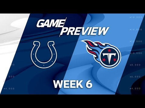 Video: Indianapolis Colts vs. Tennessee Titans | Week 6 Game Preview | NFL