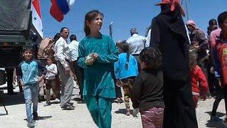 В Сирии вступил в силу режим тишины. В Джнан доставили гумпомощь