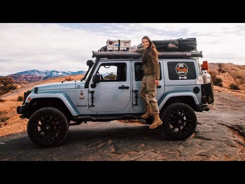 A TOUR OF OUR JEEP WRANGLER OVERLAND VEHICLE WITH YOUNG  DANIEL   /// EFRT S2•E12