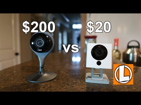 Nest Cam Indoor vs Wyze Cam v2 - $200 Dollar WiFi Camera Compared To A $20 Dollar One