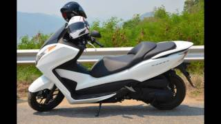 10. 2016 Honda Forza 300 Pearl Himalayas White