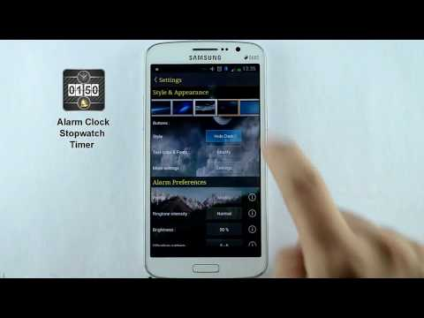 Video of Alarm Clock, Stopwatch & Timer