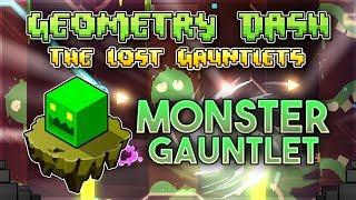 "Video ""Monster Gauntlet"" Complete [All Coins] - Geometry Dash 2.11 Gauntlets | GuitarHeroStyles MP3, 3GP, MP4, WEBM, AVI, FLV April 2019"
