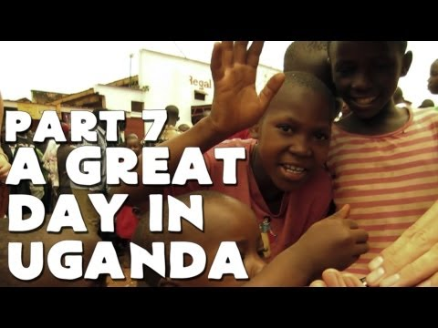 uganda - Check out Louis on his channel: http://www.youtube.com/user/FunForLouis Woke up with Louis this morning. Had a relaxing day and a trip to the orphanage.