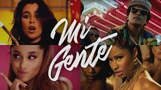 MI GENTE (The Megamix) – Bruno Mars · J.Bieber · A Grande · Nicki & More (T10MO)