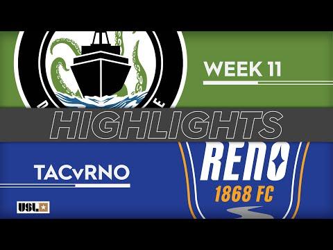 Tacoma Defiance - Reno 1:1. Видеообзор матча 19.05.2019. Видео голов и опасных моментов игры
