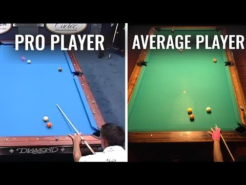Average Pool Player Trying Corey Deuel's Famous Draw Shot