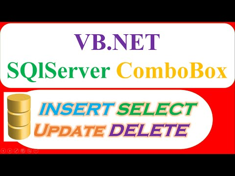VB.NET SQL Server : INSERT SELECT UPDATE DELETE