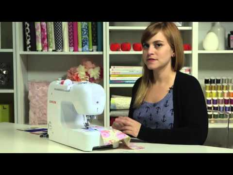 SINGER® PROFESSIONAL™ 9100 Sewing Machine - Sewing Seams