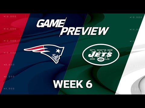 Video: New England Patriots vs. New York Jets | Week 6 Game Preview | NFL Playbook
