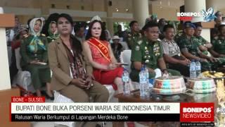Bone Indonesia  City new picture : Meriahnya Pembukaan Porseni Waria se-Indonesia Timur di Bone