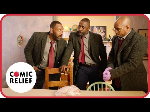 Idris Elba and sports stars in Luther | Comic Relief