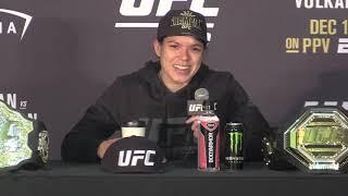 Amanda Nunes analyzes her fight at UFC 245 by MMA Weekly