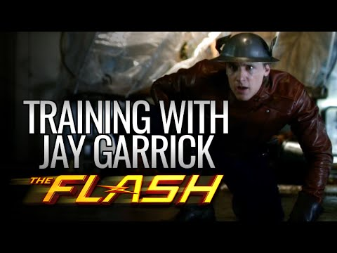 The Flash - First Training with Jay Garrick