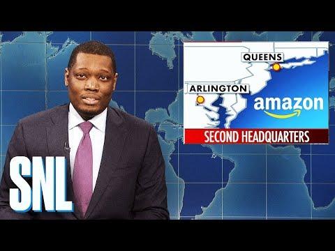 Weekend Update: Amazon Opens New York Headquarters - SNL