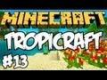 "Minecraft: TropiCraft - ""Casa de Sonho!"" #13 xD"