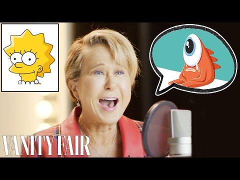 Lisa Simpson (Yeardley Smith) Improvises 8 New Cartoon Voices | Vanity Fair