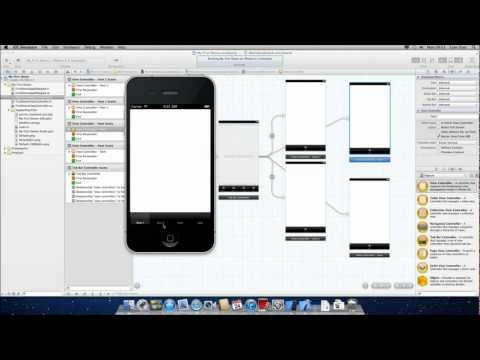 How To: Create Tabbed Tab Bar Navigation iPhone iOS Application XCode 4.6.2 [HD][Tutorial]